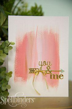 You & Me Card by Debi Adams