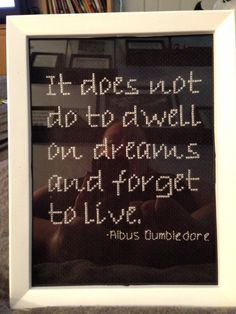 Harry Potter Albus Dumbledore quote