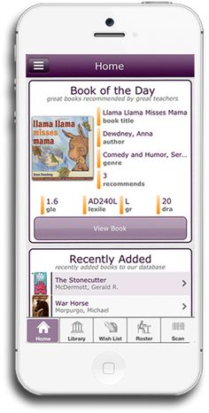 Level It Books - app for iPhone, iPad, and iPod Touch that allows you to level your classroom library to get it organized!