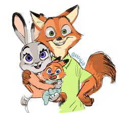 「nick judy and baby」/「pafull」[pixiv]