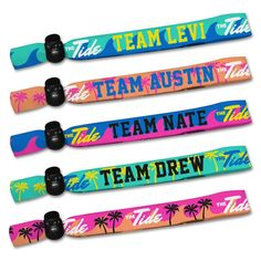 The Tide - Wristband Pack