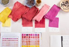 Using natural plant extracts, learn to dye a beautiful silk scarf with Kristine Vejar. You will learn the ins and outs of working with silk and other protein fibers like wool, including how to prepare fabric for dyeing, and how to create desired colors and shades using natural extracts. Once you...