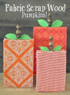 wood blocks for crafting, halloween pumpkin craft, wood pumpkins Halloween Arts And Crafts, Fall Crafts, Holiday Crafts, Holiday Ideas, Halloween 2014, Halloween Stuff, Halloween Ideas, Holiday Fun, Festive