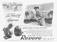 Revere Eight Adds To Your Pleasure 1946 Ad Picture
