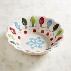 Christmas Lights Serving Bowl. #ad http://shopstyle.it/l/n70y