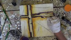 Wax on Wednesdays Encaustic Painting Fun Fabulous Texture Journey #2