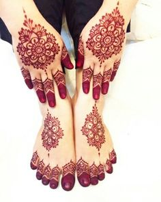 Wedding Henna Designs, Floral Henna Designs, Indian Mehndi Designs, Modern Mehndi Designs, Mehndi Designs For Fingers, Mehndi Design Images, Mehndi Designs For Hands, Henna Style Tattoos, Mehndi Tattoo
