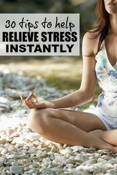 We all know long-term stress can have terrible consequences on our bodies, ranging from heart problems and high blood pressure to pain and infertility, but very few of us know how to actually relieve stress. And while these stress relief tips and tricks won't get to the root of your problems, they definitely serve as great stress management techniques to help you get through the day! Pranayama, Anxiety Relief, Stress And Anxiety, Stress Management Techniques, Pain Management, Ways To Relieve Stress, Reduce Stress, Stress Relief Tips, Stress Free