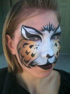 Cheetah Face Paint   Cheetah Face Paint   Flickr - Photo Sharing!