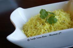 Lemon Rice ( #GlutenFree )