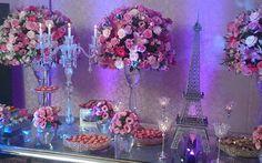 Festa inspirada em Paris