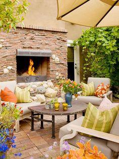 cozy patio!
