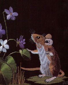 Хелен Стивенс' удивительная картина резьбы _ Helen Stevens' amazing thread painting