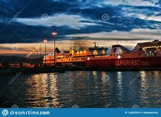 Photo about Ships that are ready to sail away at the port of Patras; All of them are heading towards Italy. Image of ride, trying, italy - 134329919