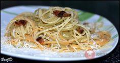 Recept naŠpagety carbonara.Dobré špagety carbonara sa nedajú pripraviť zo slovenskej slaniny a obyčajného syra.Potrebujete pancettu, špagety...