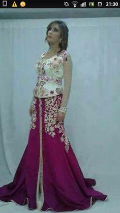 Algeria Fashion: karakou caftan combo