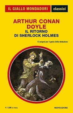 """Chiudo questo ciclo """"nostalgico"""" con il numero 1337 della collana """"I Classici del Giallo Mondadori"""". #Mystery #Mondadori #IlGialloMondadori #SherlockHolmes"""