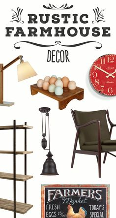 Rustic Farmhouse Furniture & Décor | Shop Now at dotandbo.com