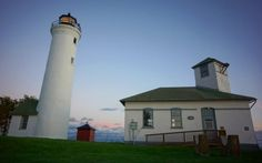 Like many of the towns you'll find out in this area, Cape Vincent features its own historic lighthouse.