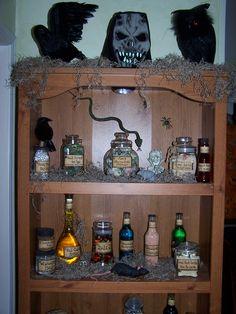 Spells & Potion Cabinet