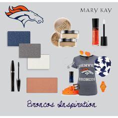 Mary Kay Broncos fans! www.marykay.com/kasey Edwards eye shadow, mascara, blu7sh, lip gloss, foundation and more!
