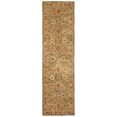 Shop Safavieh  AN516A-2 Anatolia Runner, Ivory / Sage at Lowe's Canada. Find our selection of runners at the lowest price guaranteed with price match + 10% off.