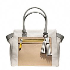 LEGACY COLORBLOCK LEATHER CANDACE MEDIUM CARRYALL