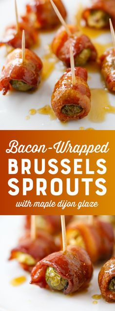 Bacon Wrapped Brusse