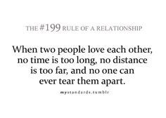 Long distance relationships :)