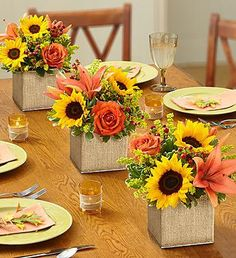 Autumn Celebration™ Centerpiece.  m.ww11.1800flowers.com