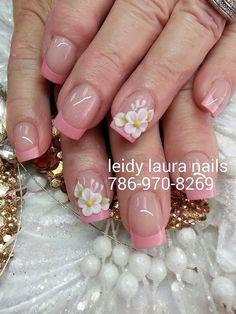 Delicadas Pretty Nail Designs, Pretty Nail Art, Nail Art Designs, Glitter Nail Art, 3d Nail Art, Nail Arts, Get Nails, Love Nails, Types Of Nails
