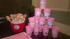Kirby themed birthday Planter Pots, Tableware, Birthday, Dinnerware, Birthdays, Tablewares, Dishes, Place Settings, Dirt Bike Birthday