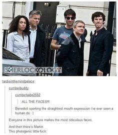 ALL THE FACES Sherlock Bbc, Sherlock Fandom, Benedict Cumberbatch Sherlock, Sherlock Quotes, Jim Moriarty, Watson Sherlock, Funny Sherlock, Sherlock Tumblr, Sherlock Poster