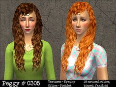 Pooklet'd Hair Retextures by Snapun
