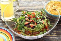 You get multiple layers of massive flavor in this easy paleo recipe for a Mexican dip (no beans!). Serve with plantain chips or veggies to keep it 100% paleo.
