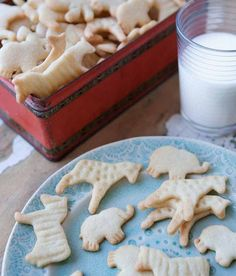 Homemade Animal Crackers (and the history within)  -  From CakeSpy
