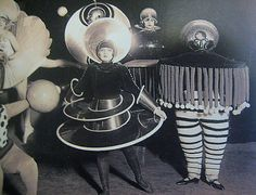 Bauhaus Kostüme 1920er