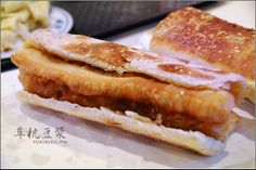 Chinese cruller in flatbread ( Shaobing youtiao) #Taiwanese breakfast #Chinese 燒餅油條