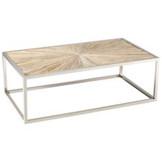 Cyan Aspen Coffee Table