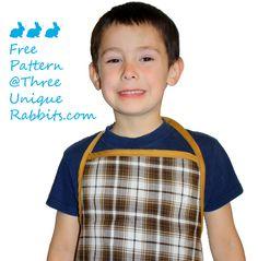 Free Boy Apron Pattern.