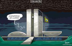 Charge do Dum (Opinião) sobre a crise no Brasil (12/07/2017) #Charge #Dum #Política #Temer #MichelTemer #Presidente #ReformaTrabalhista #Reforma #Crise #HojeEmDia