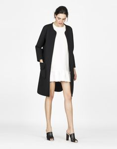 Cynthia Rowley - Pique Long Jacket | Tops