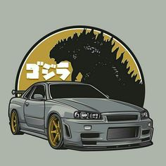 GTR34 | Godzilla