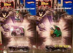 Batman 2-Pack - Hot Wheels