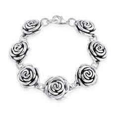 Strong Rose  Bracelet