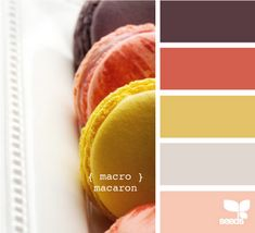 another macaron palette (design-seeds) Colour Pallette, Colour Schemes, Color Patterns, Color Combinations, Color Trends, Cool Ideas, Design Seeds, Color Swatches, House Colors