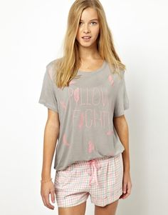 Image 1 ofChelsea Peers Pillow Fight T-Shirt