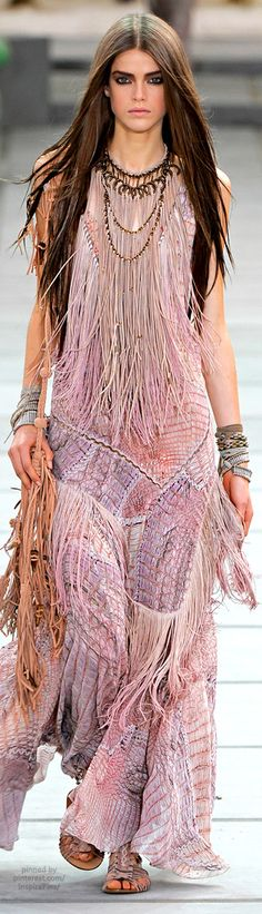 Spring 2011 Ready-to-Wear Roberto Cavalli #PurelyInspiration