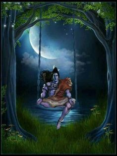 Lord Shiva as adiyogi in creative art painting Lord Shiva Statue, Lord Shiva Pics, Lord Shiva Hd Images, Lord Shiva Family, Shiva Parvati Images, Mahakal Shiva, Shiva Art, Hindu Art, Lord Hanuman Wallpapers