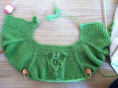 Ravelry: Project Gallery for Sproutlette Dress pattern by Tanis Lavallee